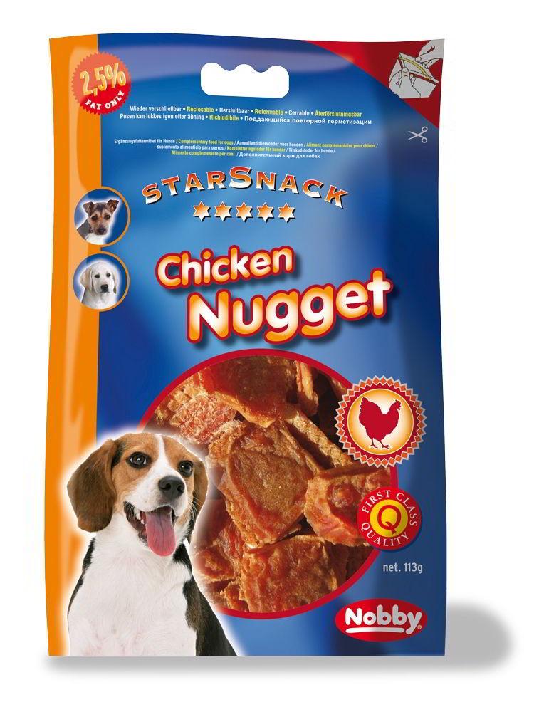 Nobby StarSnack Chicken Nugget kuřecí nugetky 113g