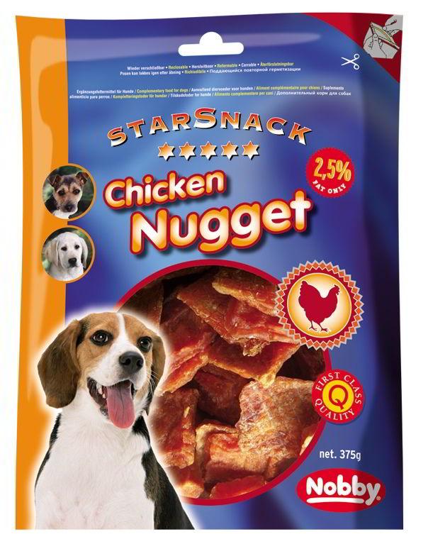 Nobby StarSnack Chicken Nugget kuřecí nugetky 375g