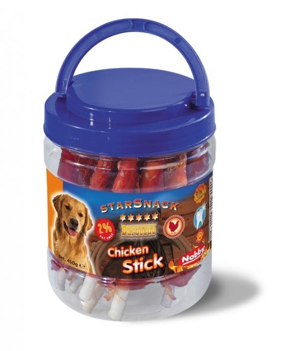 Nobby StarSnack Barbecue Chicken Stick kyblík tyčinky kuřecí 450g