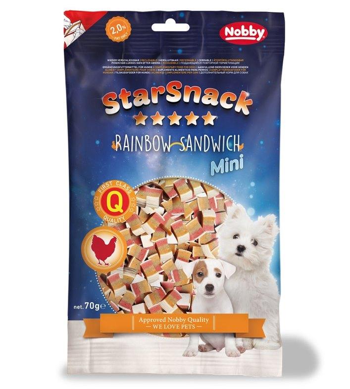 Nobby StarSnack Mini Soft měkké pamlsky kuře+ryba 70g
