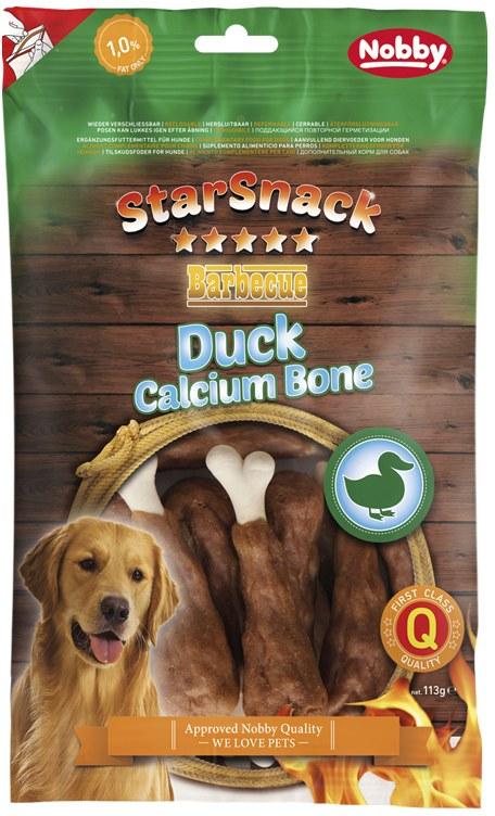 Nobby StarSnack Calcium kalciová kost s kachnou 113g