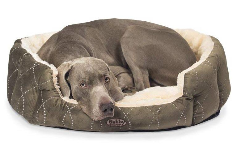 Nobby Ceno pelíšek pro psy hnědá 86x70x24cm