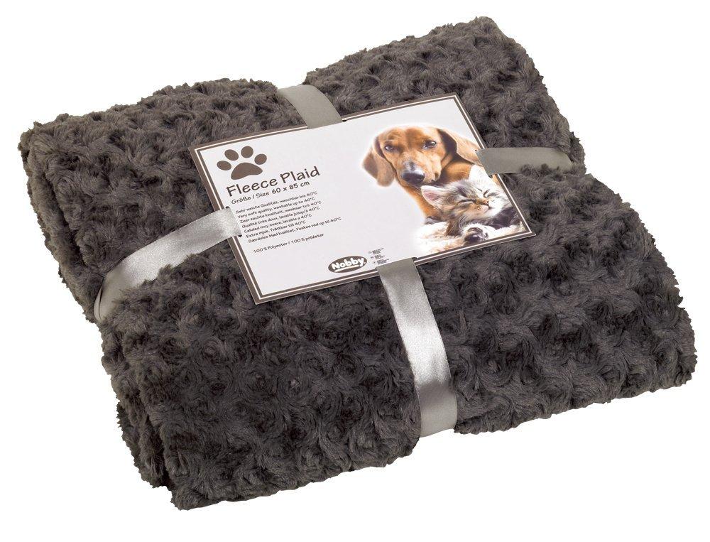 Nobby Super Soft Small deka 60x85cm šedá
