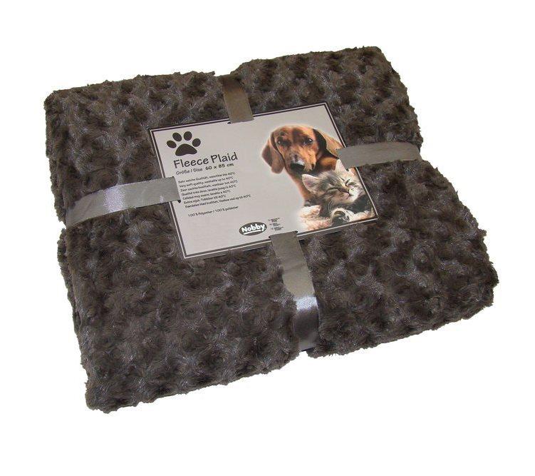 Nobby Super Soft Small deka 60x85cm hnědá