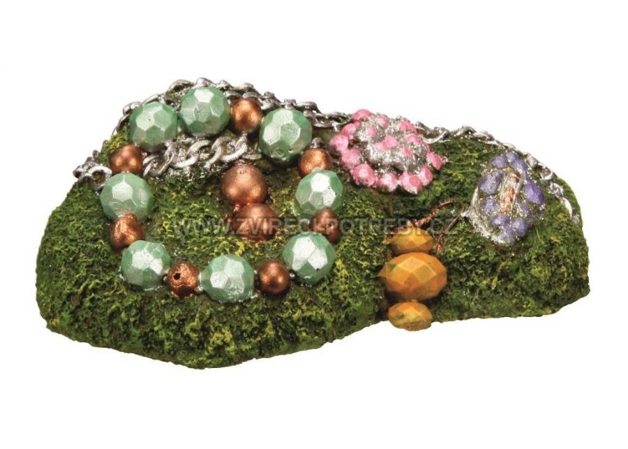 Nobby akvarijní dekorace šperky 12,5 x 8 x 4,5 cm
