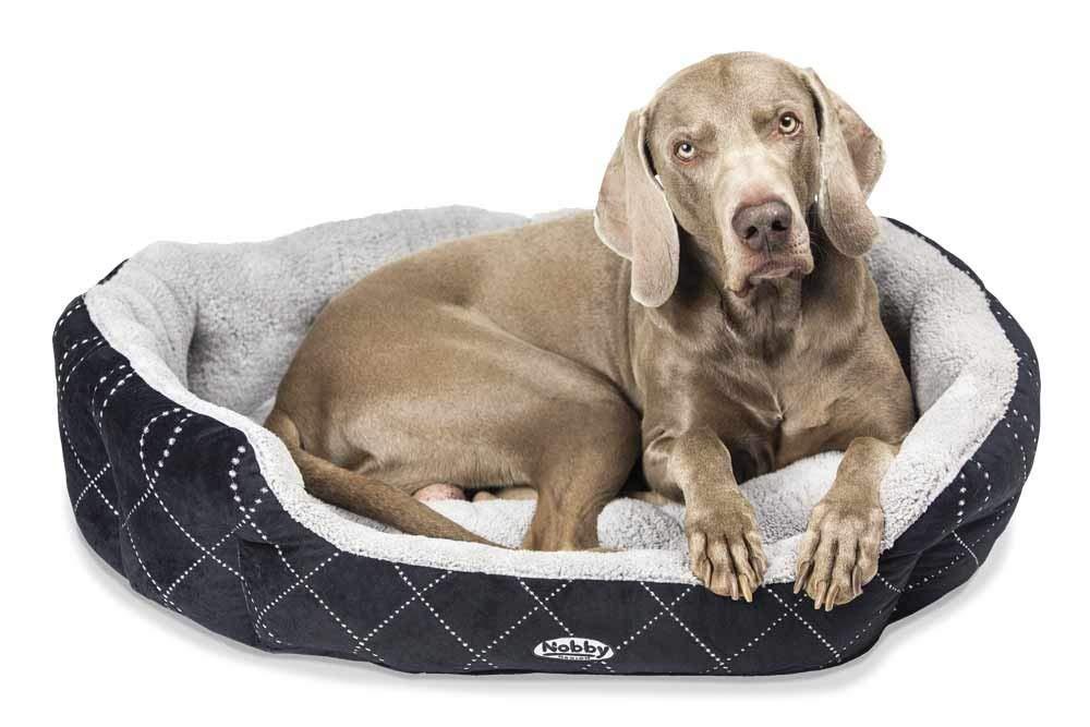 Nobby Ceno pelíšek pro psa černá 86x70x24cm