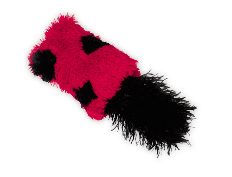 Nobby hračka plyšový polštářek s Catnipem 12x6cm