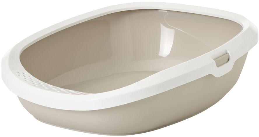 Savic Gizmo M toaleta pro kočky béžová 44 x 35,5 12,5 cm