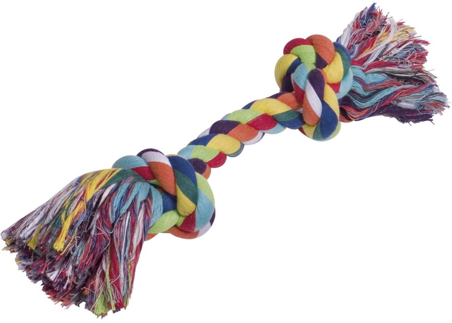 Nobby barevné lano 2x uzel bavlna 390g