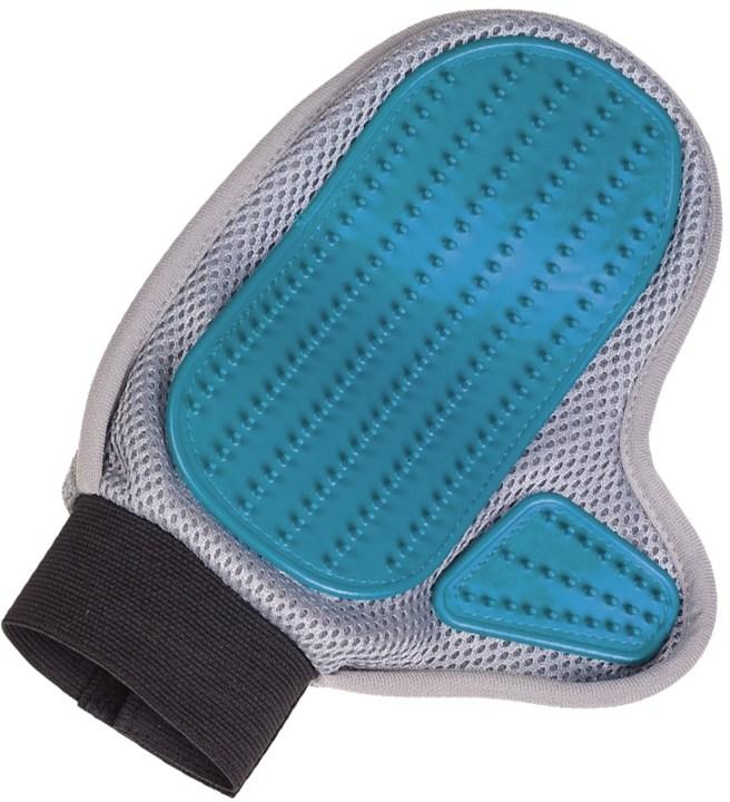 Nobby vyčesávací rukavice šedá 1 ks