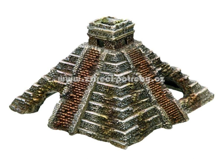 Nobby akvarijní dekorace mayská pyramida 16 x 16,5 x 10 cm