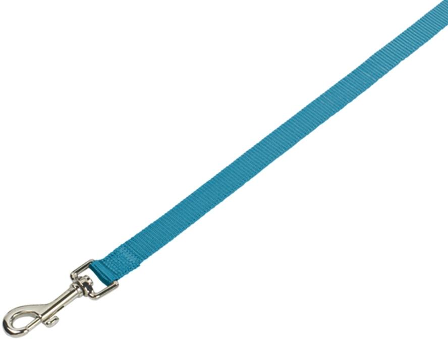 Nobby CLASSIC nylonové vodítko 120cm / 15mm světle modrá