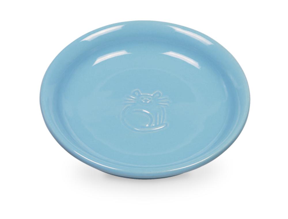 Nobby keramická miska na mléko pro kočku modrá