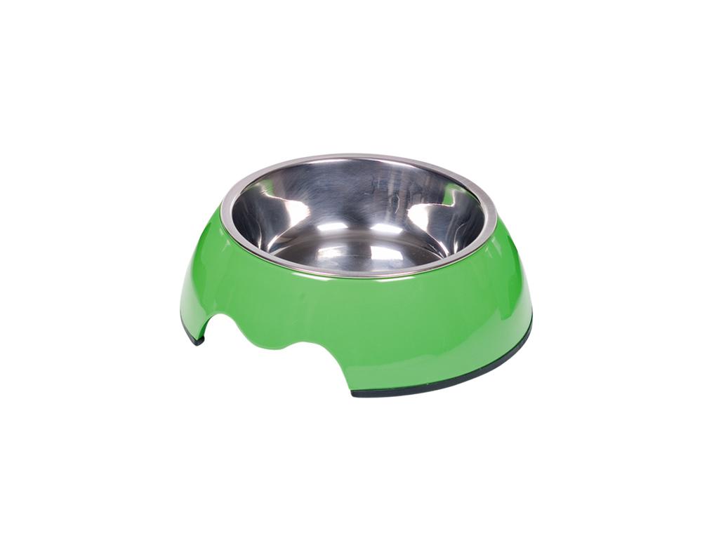Nobby Nobly miska v pouzdře 160ml zelená