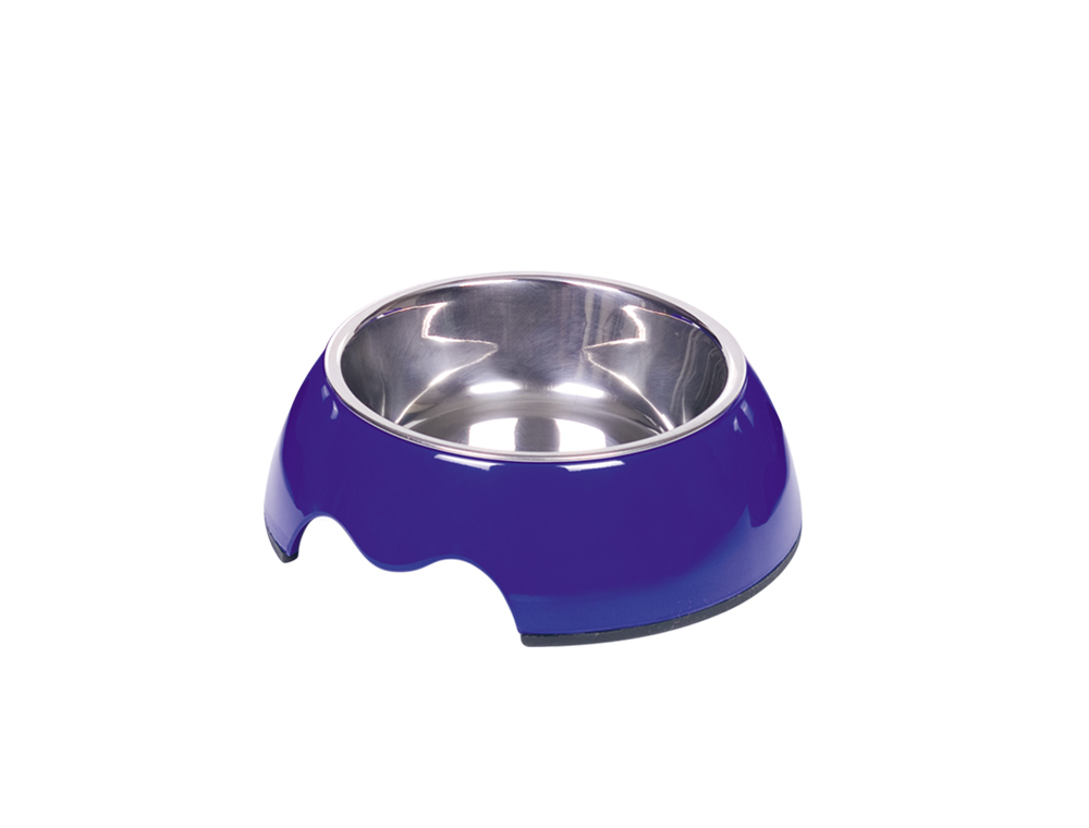 Nobby Nobly miska v pouzdře 160ml modrá