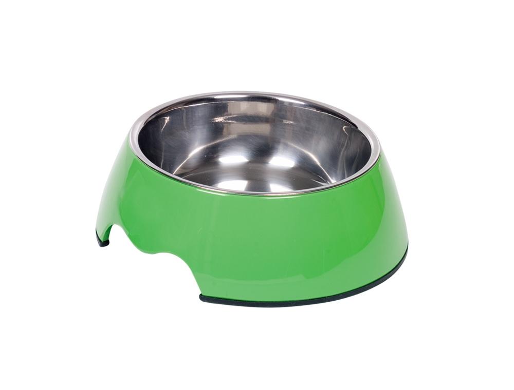 Nobby Nobly miska v pouzdře 350ml zelená