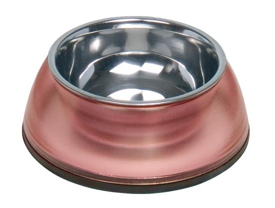 Nobby Diva Clear miska v červeném pouzdře 200ml