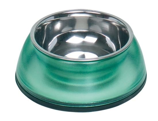 Nobby Diva Clear miska v zeleném pouzdře 200ml