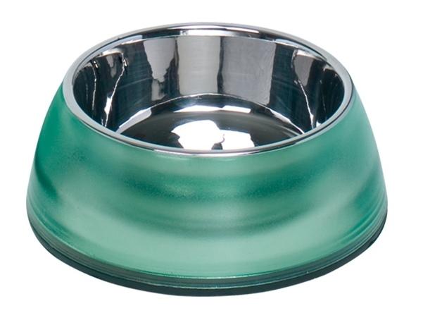 Nobby Diva Clear miska v zeleném pouzdře 500ml