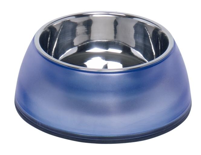 Nobby Diva Clear miska v modrém pouzdře 800ml