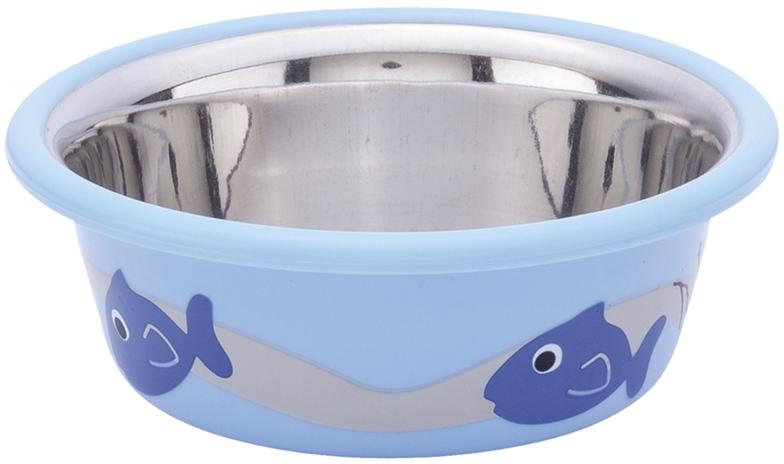 Nobby Cutie nerez miska v TRP modrá 9,5cm 250ml