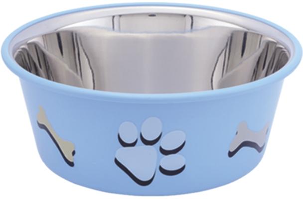 Nobby Cutie nerez miska v TRP modrá 11,5cm 400ml