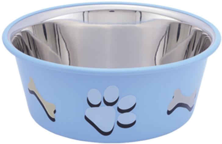 Nobby Cutie nerez miska v TRP modrá 14,5cm 900ml