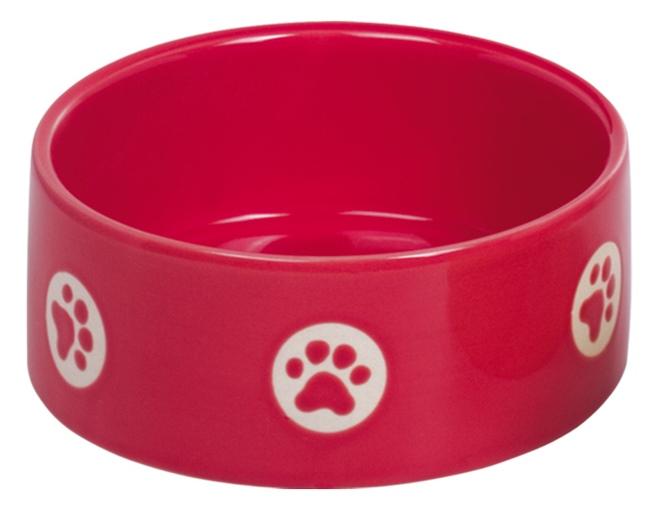 Nobby TASSU keramická miska červená 15x6cm