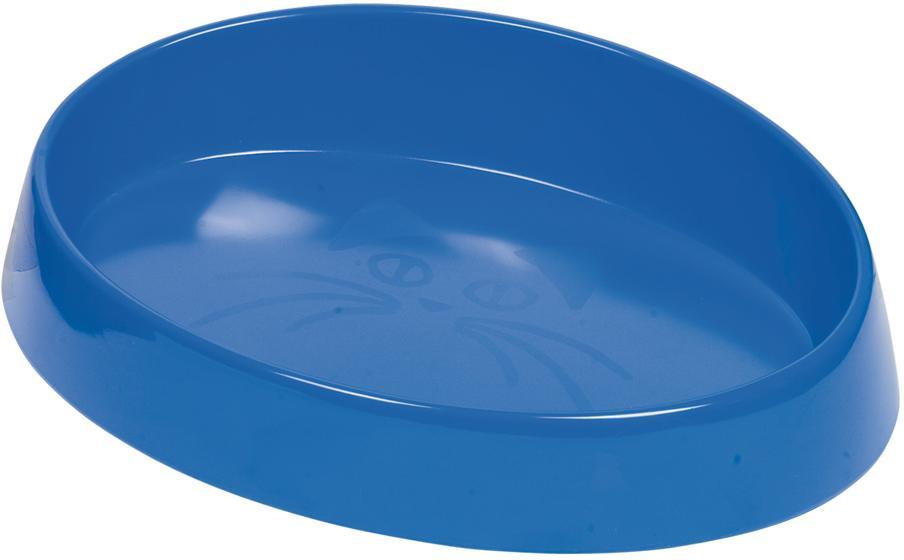 Nobby oválná miska pro kočky modrá 20x15x2cm