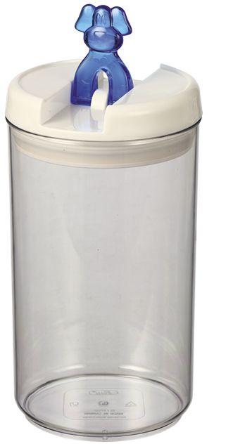 Nobby Flip Dog akrylová dóza na pamlsky pes 2,0 l