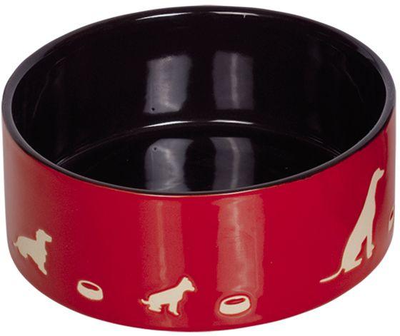 Nobby Marli keramická miska červená 15,0 x 6,0 cm