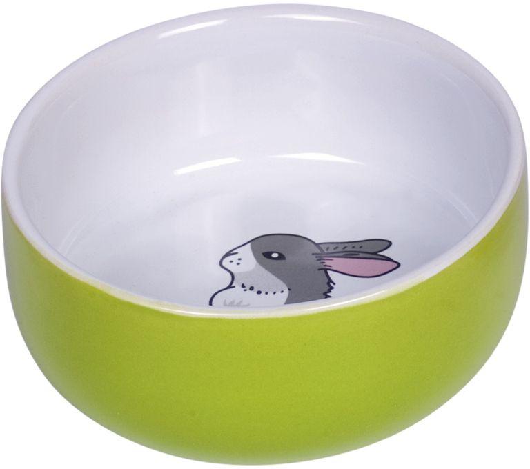 Nobby Rabbit keramická miska pro hlodavce králíček 11 x 4,5 cm