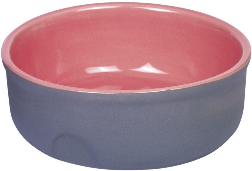 Nobby Feed keramická miska růžová 13 x 5 cm