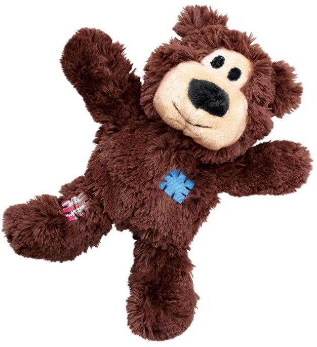Kong Knots odolné přetahovadlo medvěd vel. XS 10cm