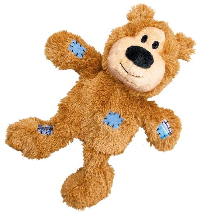 Kong Knots odolné přetahovadlo medvěd vel. S/M 18 cm
