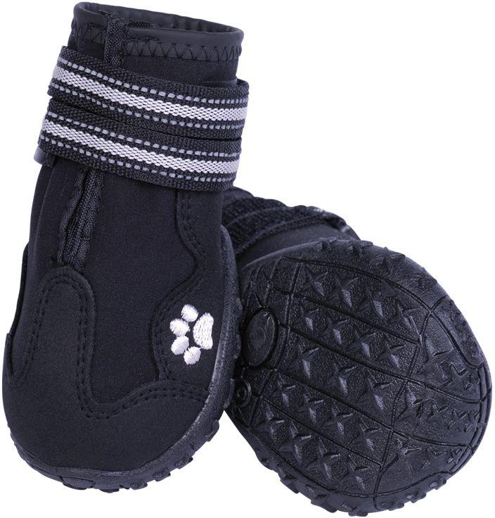 Nobby RUNNERS ochranné boty pro psy M 2ks černá