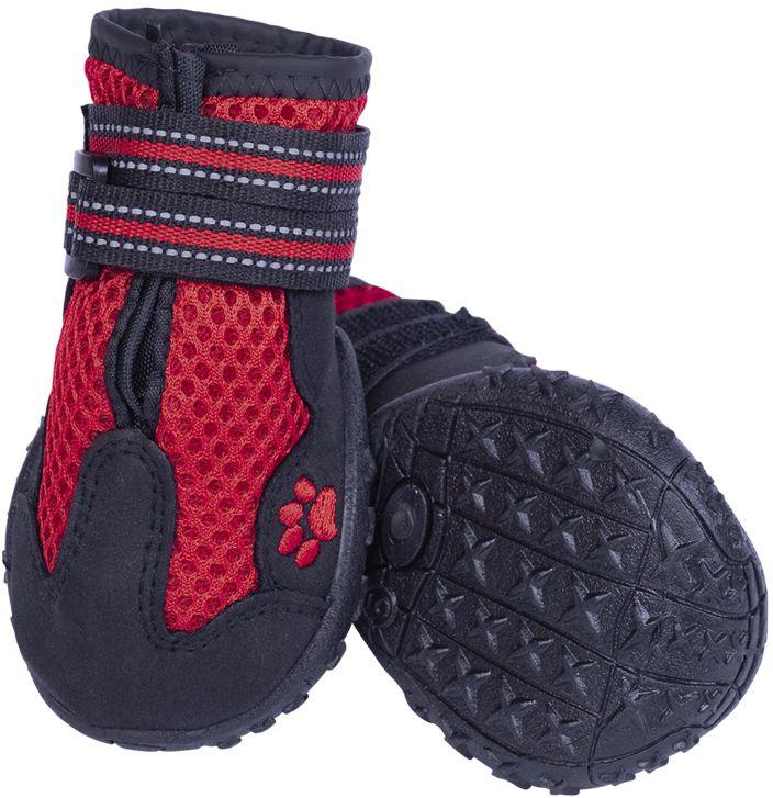 Nobby RUNNERS MESH ochranné boty pro psy L 2ks červená