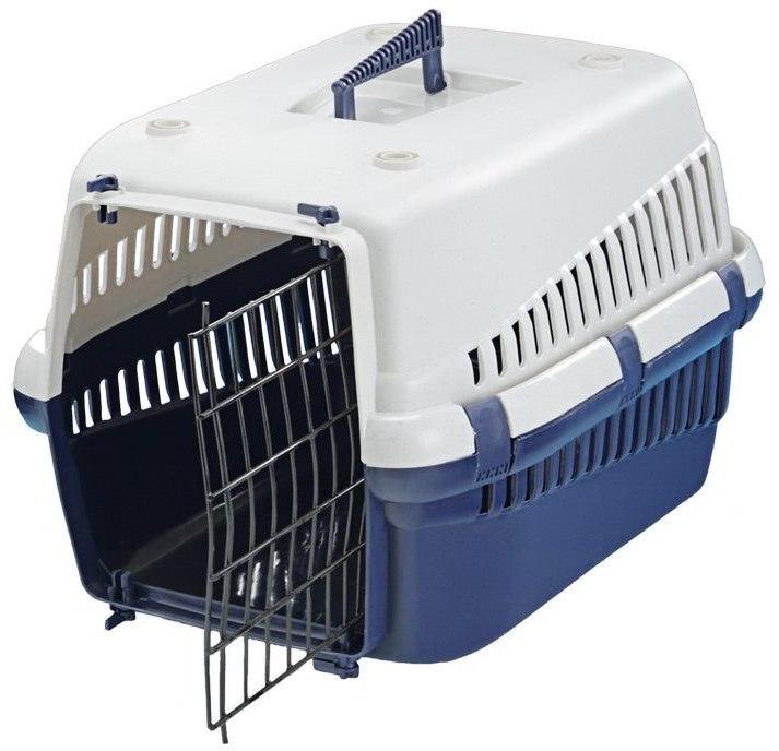 Nobby přepravka na zvířata modrá 54x38x33cm