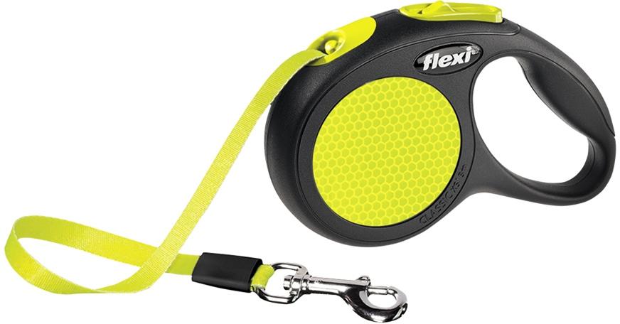Flexi Neon páskové vodítko XS 3m do 12kg