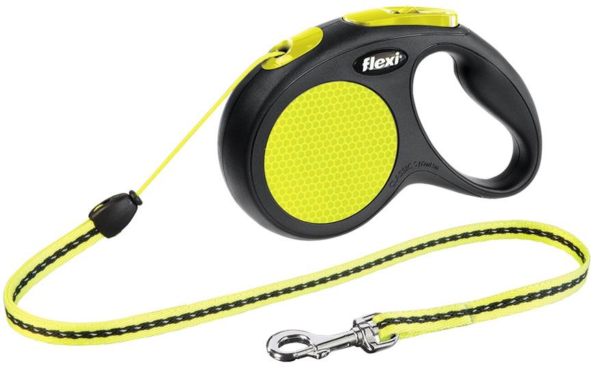 Flexi Neon lankové vodítko S 5m do 12kg