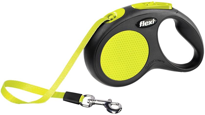 Flexi Neon páskové vodítko S 5m do 15kg