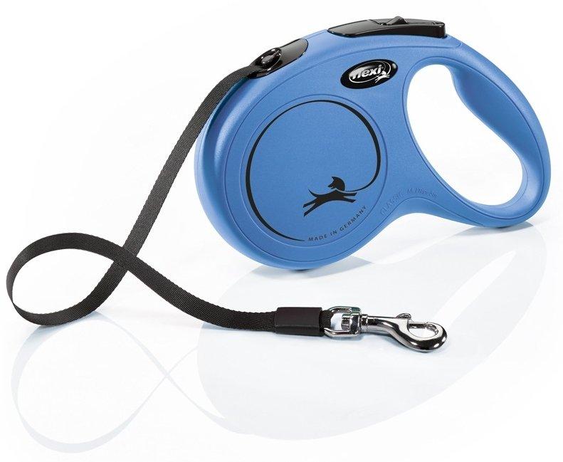 Flexi NEW CLASSIC M pásek 5m/25kg modrá