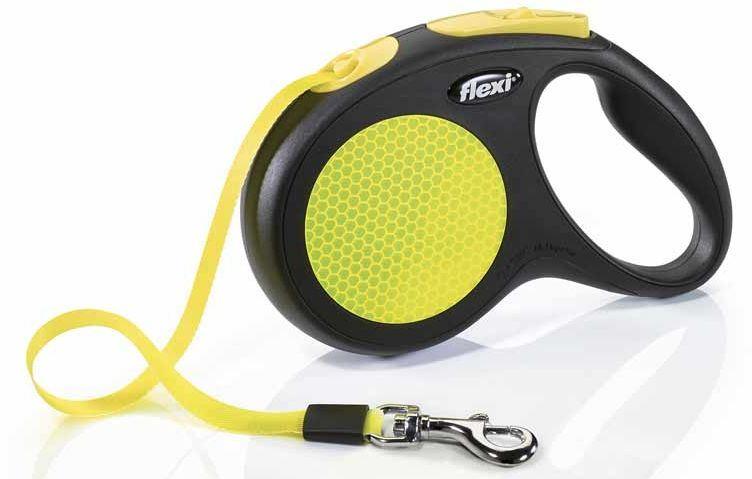 Flexi Neon páskové vodítko M 5m do 25kg