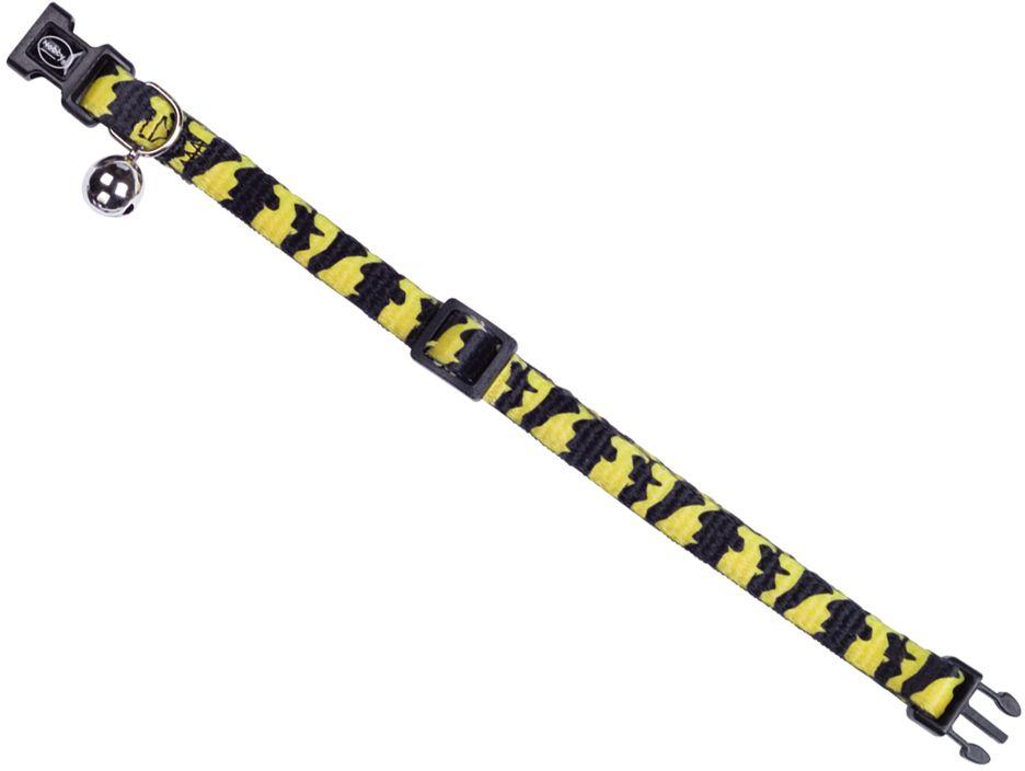 Nobby obojek pro kočku tygr žlutá 1ks
