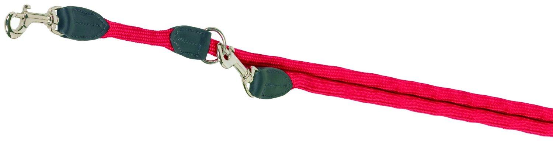 Nobby FUN Royal červené lanové vodítko nastavitelné 200cm / 9mm