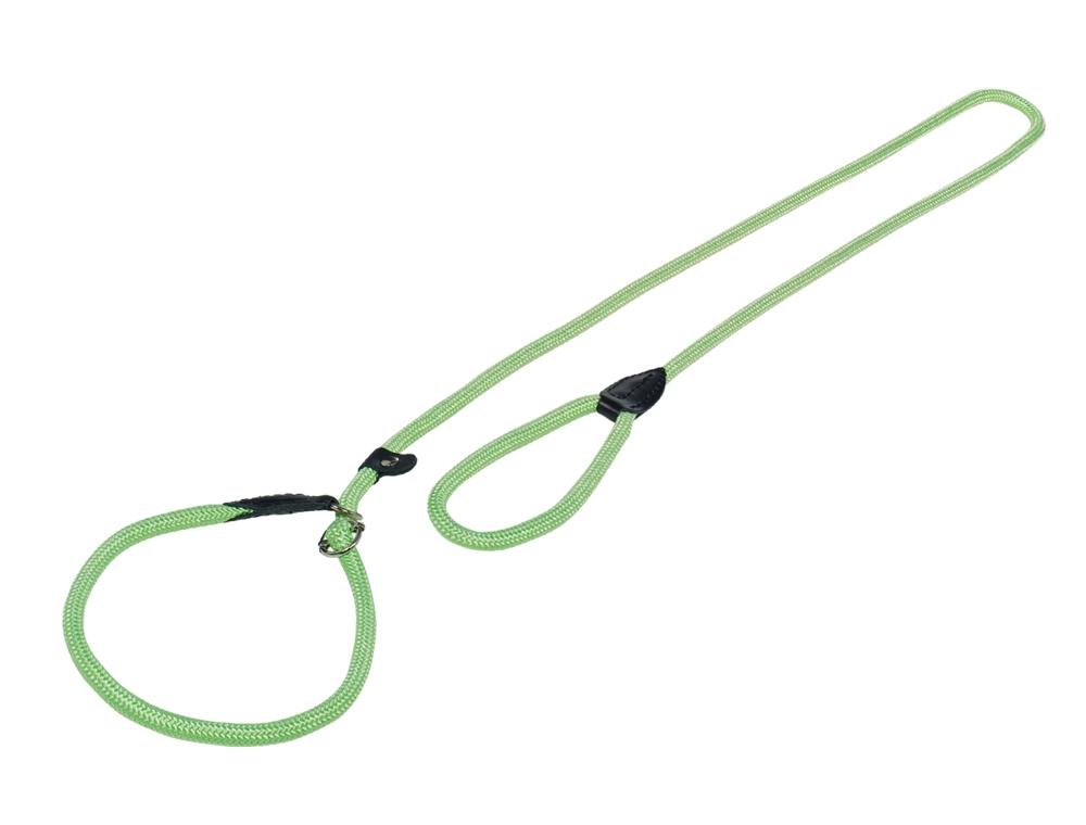 Nobby FUN Royal Neon zelené lanové vodítko pro retrívry 170cm / 9mm