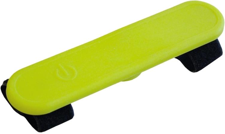 Nobby LED svítící návlek na obojek žlutý 12 cm