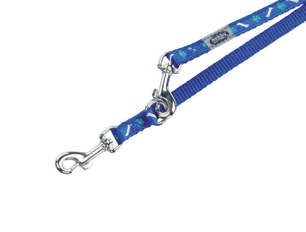 Nobby MINI textilní vodítko 200cm / 10mm modrá