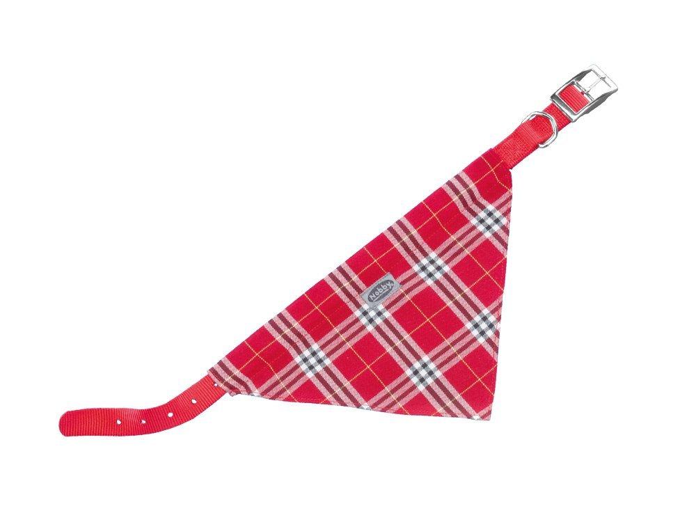 Nobby Scarf obojek se šátkem pro psa 50cm červená