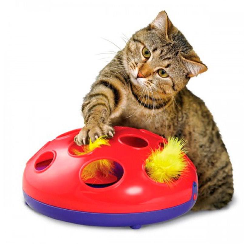 Kong Glide'n Seek hračka pro kočky 24cm